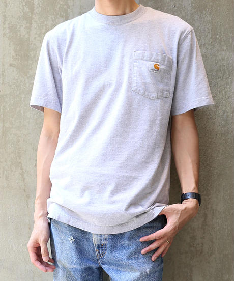 [USED] Carhartt T-SHIRT (GRAY1)