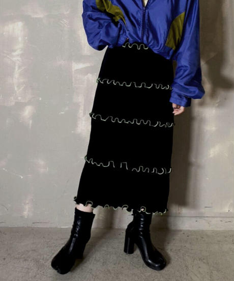 【RE;CIRCLE】 Mellow Spandex  Medium Skirt / 201114-018