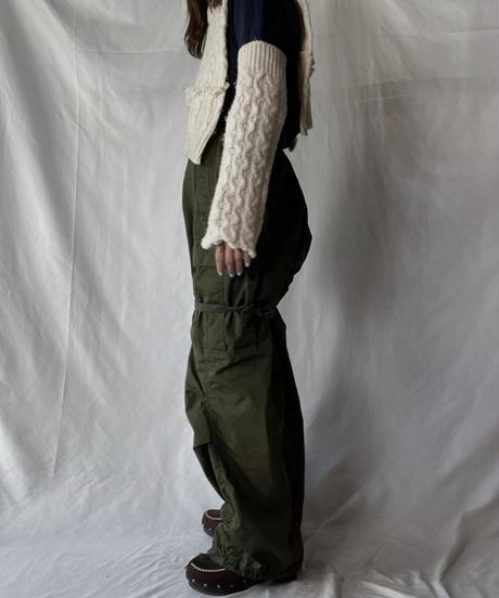 【RE;CIRCLE】 RE Alan Knit Arm + Collar/211008-028