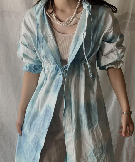 【RE;CIRCLE】RE Medical Tie dye  S/S Gown ① /210601-024