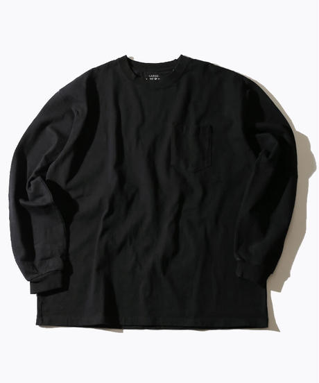 【MAX WEIGHT JERSEY】202 (Black) (長袖 ポケット付)/max20105p