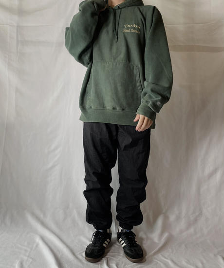 【USED】  Champion Reverse Weave Hoodie Tuche Real Estate/210902-039
