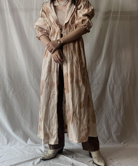 【RE;CIRCLE】RE Medical Tie dye  S/S Gown ④ /210601-027
