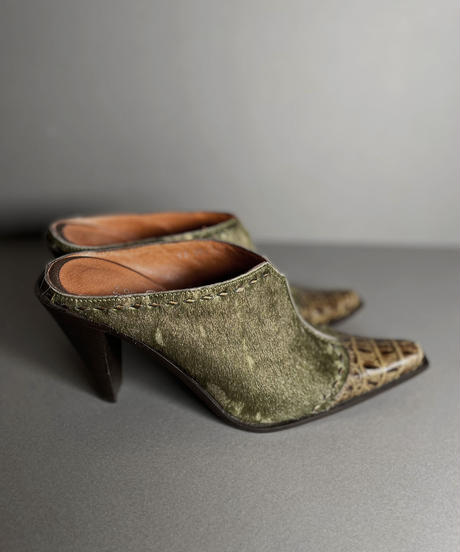 【USED】 Couture Western Shoes/210811-001