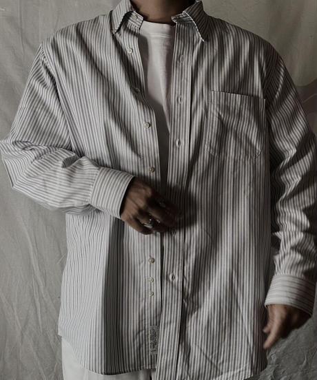 【USED】 Brooks Brothers L/S Strip Shirt③/210624-006