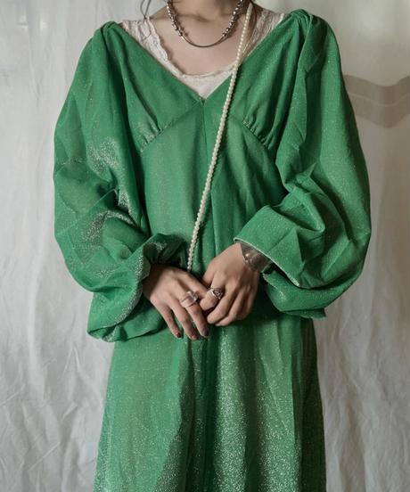 【USED】 EURO Poly Dress/210714-039