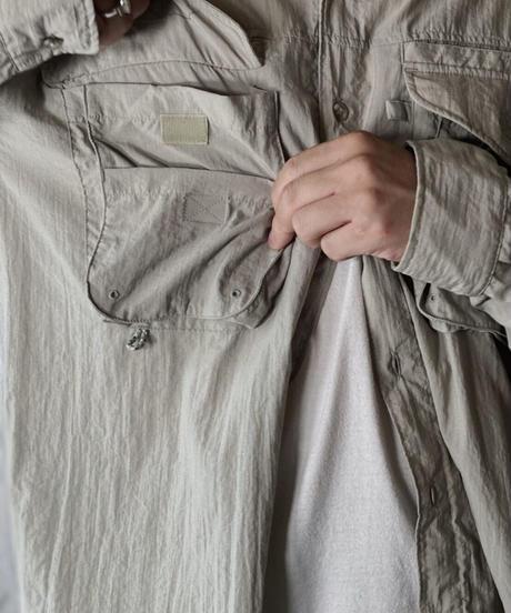 【USED】Columbia Fishing Shirt/210610-023