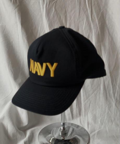 【USED】 Baseball Cap NAVY /210515-030