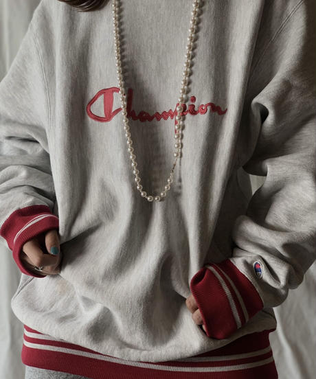 【USED】 90's USA Champion Reverse Weave Logo①/210324-012