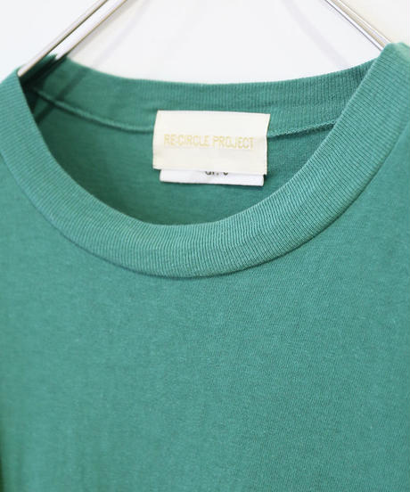 [REMAKE] HALF SLEEVE T-SHIRT (GREEN)