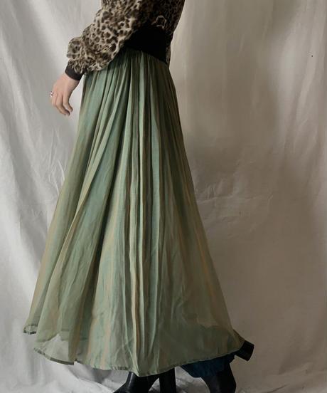 【USED】See-through Long Skirt/210217-046