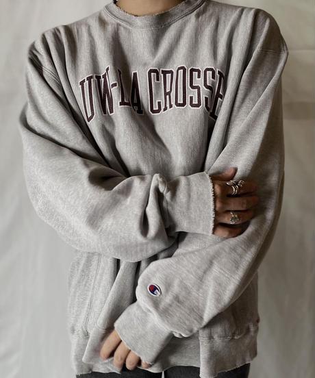 【USED】  Champion Reverse Weave Sweat UW-LACROSSE/210902-040