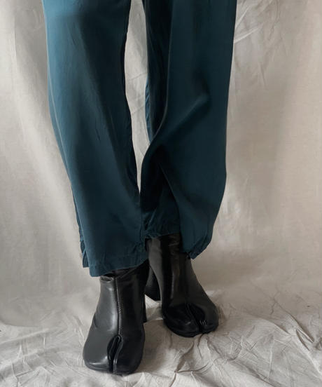 【USED】Satin Easy Pants①/210217-049