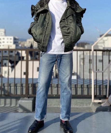 【MAX WEIGHT JERSEY】202 (White) (長袖 ポケット付)/max20101p