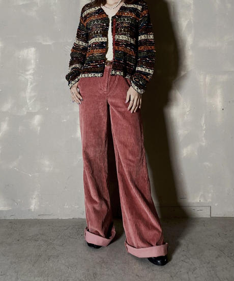 【USED】 Knit Cardigan  / 201204-018