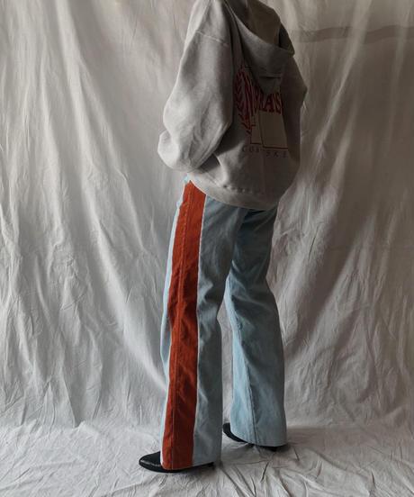 【RE;CIRCLE】 Remake Corduroy Side Line Pants⑤/210317-008