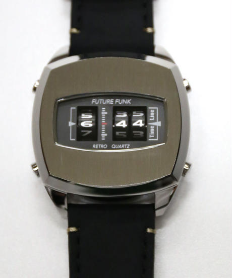 FUTURE FUNK Watch (Square/Silver)