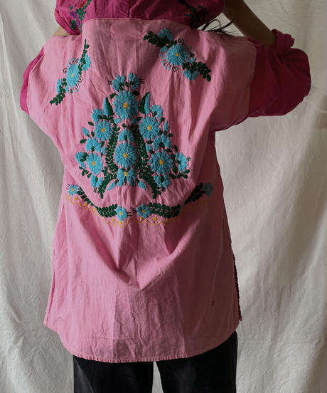 【RE;CIRCLE】RE Embroidery Ethnic Mexican Parker ⑧ /210601-010