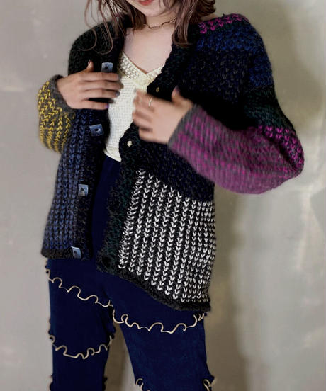 【USED】Knit Cardigan / 201114-005