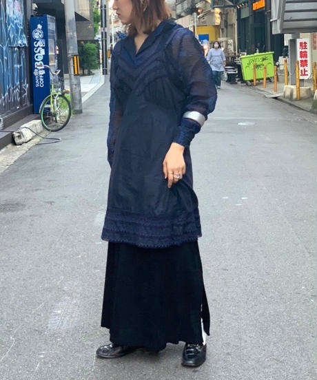 【Used】Slip Long Camisole  NAVY
