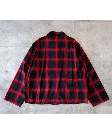 Jisome Check Shirt Jacket