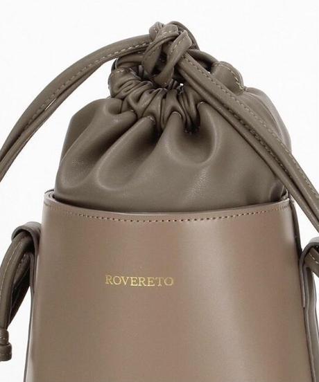 """ROVERETO""巾着バッグ"