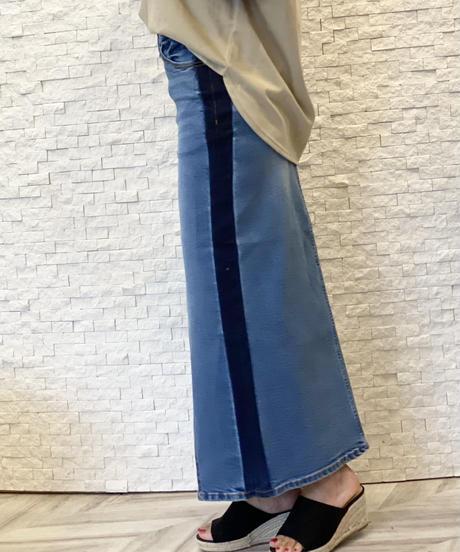 リメイクデニムスカート