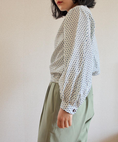 Yukata Balloon sleeves blouse (no.292)