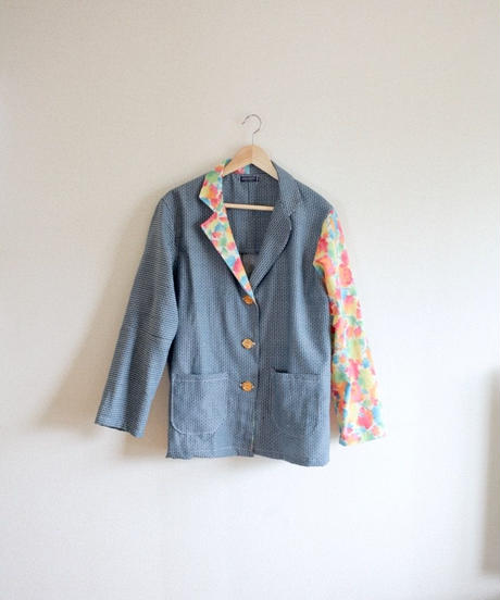 Blue&Colourful Kimono Oversized jacket (no.335)