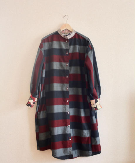 3 color kimono long shirt dress (no.215)