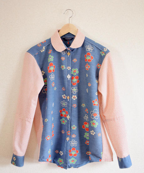 Spring retro long sleeve shirt (no.287)