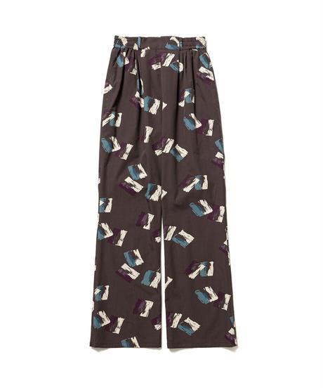 BRUSH PATTERN EASY PANTS【WOMENS】