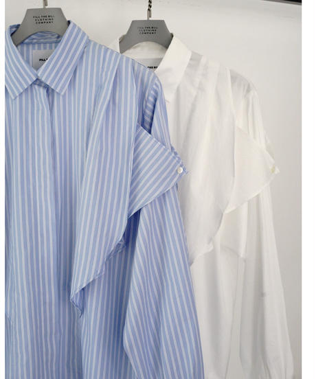 FRILL FLY FRONT SHIRTS【WOMENS】