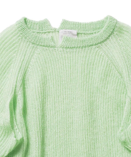 SILK MOHAIR KNIT PULL OVER【UNISEX】