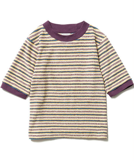 PILE BORDER TIGHT TEE【WOMENS】