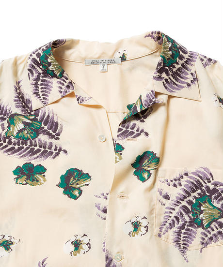 ALOHA LONG SLEEVE SHIRTS【MENS】