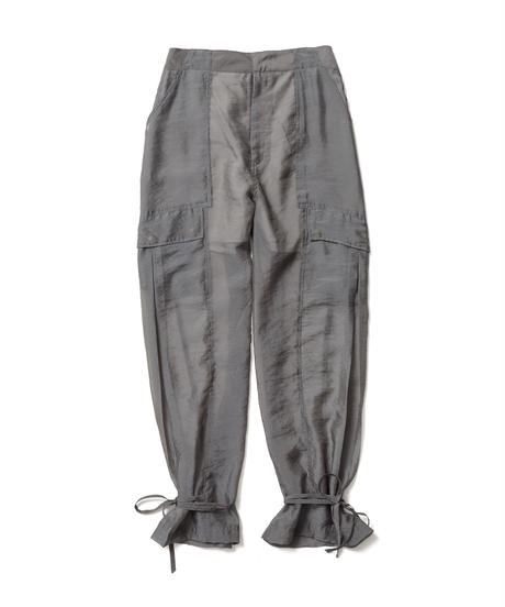 SEE THROUGH CARGO TROUSERS【WOMENS】