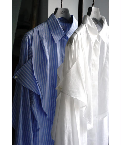 FRILL FLY FRONT SHIRT【WOMENS】