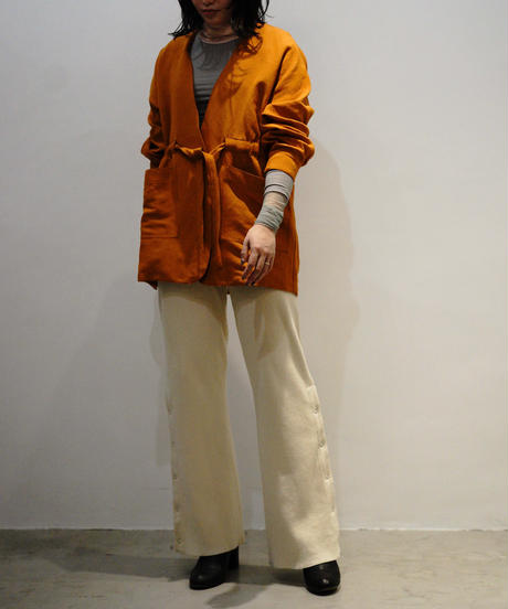 NO COLLOR SQUEEZE JACKET 【WOMENS】