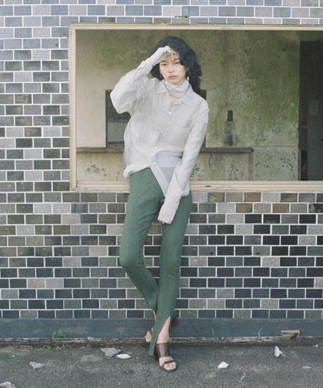 SHEER CHINA SHIRTS【WOMENS】