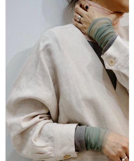 SHEER TURTLE NECK【WOMENS】