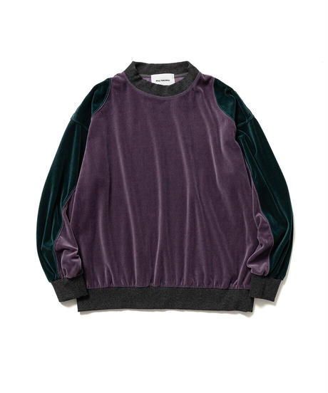 VELOR JERSEY PULLOVER【WOMENS】