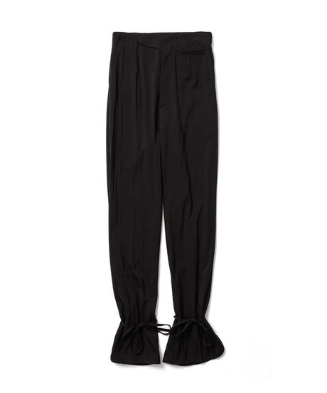 BOOTSCUT SLIT TROUSERS【WOMENS】