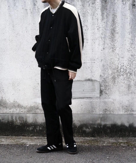 REVERSIBLE ATHLETIC JACKET【MENS】