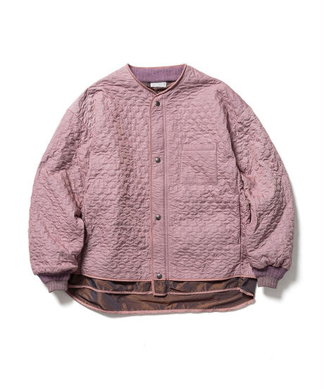 QUILT LAYERED JACKET【MENS】
