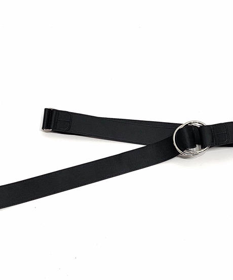 LEATHER RING BELT【WOMENS】