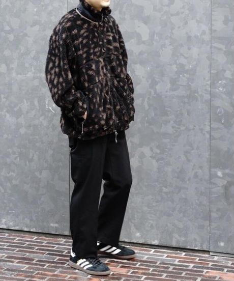 LEOPARD FLEECE JACKET【MENS】