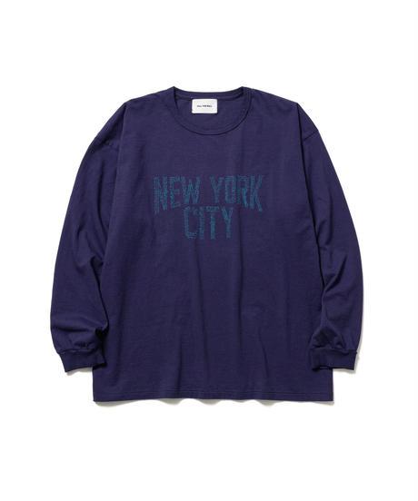 NYC SOUVENIR LONG TEE【UNISEX】