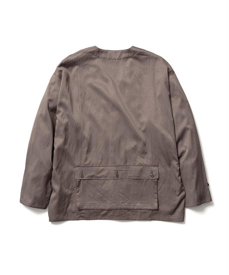 C/R NO COLLAR MILITARY JACKET【MENS】