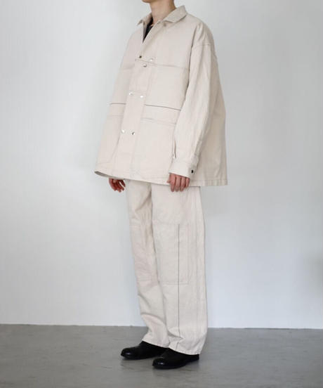 C/L LINE STITCH BIG COVERALL【MENS】